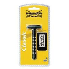 WILKINSON SWORD CLASSIC Maquinilla de Afeitar / Safety Razor + 5 Hojas / Blades