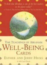 The Teachings of Abraham Well-Being Cards by Jerry Hicks and Esther Hicks...