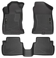 Husky Liners WeatherBeater Floor Mats- 3pc-99661-For Subaru Impreza 17-19- Black