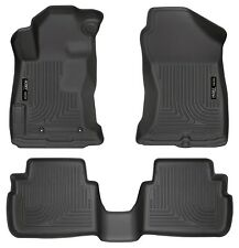 Husky Liners WeatherBeater Floor Mats- 3pc - 99661 - Subaru Impreza 2017 - Black