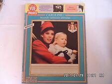 POINT DE VUE N°1955 17/01/1986 CAROLINE DE MONACO 2nde naissance De Kent  K23