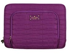 """Kate Spade Macbook pro 13"""" Laptop Case sleeve quilted purple New"""