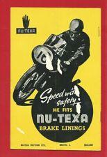 CONTINENTAL STYLE MOTO-CROSS PROGRAMME - LIDDINGTON HILL - AUG. 1964 (RJ09)