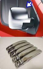 2016Up Fiat Talento Abs Chrome Mirror Cover 2X &Chrome Door Handle 5Door S.Steel