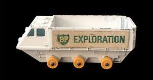 Vintage BP Exploration Lesney Matchbox Series #61 Alvis Stalwart Metal Truck Toy