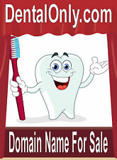 Dental Only .com  Sell Online Dentist Tooth Products Domain Name for Sale URL