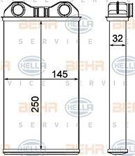 8FH 351 000-621 HELLA Heat Exchanger  interior heating