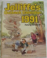JOLLIFFE'S OUTBACK CALENDAR 1991 Eric Jolliffe: Australiana Colour Illustrations