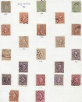 netherlands indies stamps page ref 16975