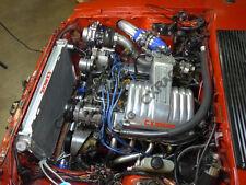 CX Turbo + Intercooler Kit For 79-93 Fox Body Ford Mustang V8 5.0 NA-T Black
