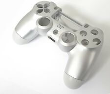 Replacement PS4 V1 Controller Full Shell Custom Case Housing Mod Kit - Silver