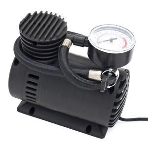 300 PSI 12V Car Portable Mini Air Compressor Electric Tire Inflator Pump w/Gauge