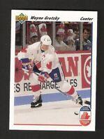 1991-92 Upper Deck WAYNE GRETZKY #13 NM-MINT Hockey Team Canada