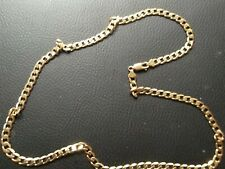 9ct Gold Curb 22in, 22g Chain/necklace.