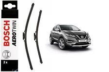 Bosch Front Windscreen Wiper Blades Aerotwin 600mm+380mm Fits Nissan Qashqai