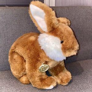 1988 Vintage GUND Bunny Rabbit Plush Easter Bunny Kids Toy Stuffed Animal