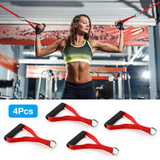 Resistance Bands Resistance Tube Foam Handles Exercise Fitness Strength Training
