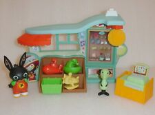 Bing Bunny Padgets Shop & 2 Figures + Toys 🐰Excellent🐰ALL COMPLETE-VERY RARE🌞