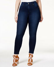 LANE BRYANT PENCIL SKINNY JEAN BY Melissa McCarthy Seven7 28W DARK WASH STRETCH