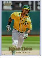 Khris Davis 2019 Topps Stadium Club 5x7 Gold #109 /10 Athletics