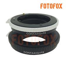 CYG-FX Contax G CYG Lens to Fujifilm Fuji FX X mount X-Pro1 X-E1 X-M1 A1 adapter