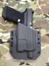 Armor Gray Kydex Holster for Glock 19 23 32 Threaded Barrel Inforce APLc