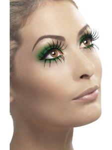 Top & Bottom Set Of False Eyelashes Ladies Fancy Dress Accessory