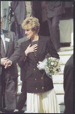 Diana Princess of Wales in London 1992 ,Mark Grassham Colour 1993 Postcard