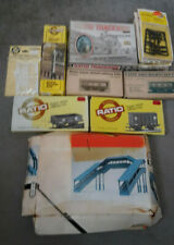 More details for ratio oo gauge kits (signal box, signal, accessories, gwr coaches & wagons)