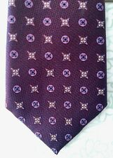 New with Tag Canali Men's Neck Tie, Multi-color, 100% Silk and Made in Italy