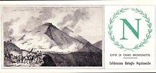 FDC - NAPOLEONE BONAPARTE - 1969 CAIRO MONTENOTTE - CELEBRAZIONI - 32-47