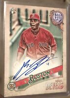 2018 Gypsy Queen Baseball Rafael Devers Rookie RC Auto Mint PSA Ready Red Sox