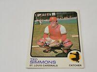 1973 Topps Set Break # 85 Ted Simmons NM-MT+ Cardinals HOF