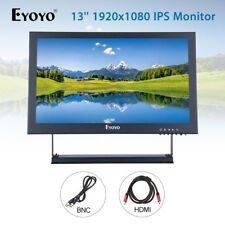 EYOYO 13'' 1920x1080 Display Video Audio VGA BNC HDMI IPS Monitor For Laptop DVR