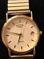 Rotary Gold Plated Gents Watch