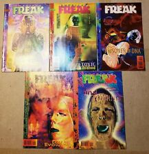 AMERICAN FREAK THE UN-MEN SET 1 2 3 4 5 DC VERTIGO HORROR COMICS VINCENT LOCKE