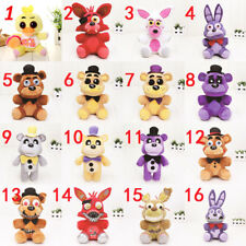 "Five Nights at Freddy's FNAF Horror Game Plush Dolls Kids Plushie Toy 6"" 7"" Foxy"