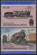 1904 Erie Railroad Class H20 No.1615 2-8-0 Train Stamps / LOCO 100