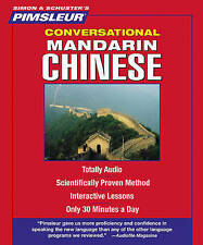 Pimsleur Chinese (Mandarin) Conversational Course - Level 1 Lessons 1-16: Learn to Speak and Understand Mandarin Chinese with Pimsleur Language Programs by Pimsleur (CD-Audio, 2011)