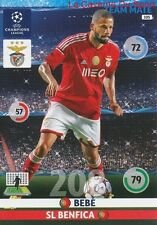 105 BEBE SL.BENFICA PORTUGAL CARD CHAMPIONS LEAGUE ADRENALYN 2015 PANINI