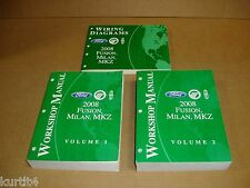 2008 Ford Fusion Mercury Milan Lincoln MKZ dealer wiring service shop manual