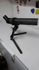 Vintage Greenkat 60mm spotting scope telescope with folding tripod and lens caps