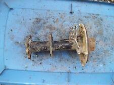 2002 SUZUKI EIGER 400 2WD REAR BRAKE DRUM BACKNG PLATE AXLE TUBE