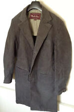 Marlboro Classics Gray Distressed Vintage Long Coat Jacket Mens Sz L