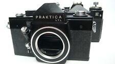 Joblot Trabajo Lote 2 X Negro PRAKTICA LTL ZENIT E SLR análogo de cámaras de cine 35mm M42