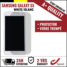 A+ LCD SCREEN/SCHERM/ÉCRAN WHITE + SCREEN GUARD FOR SAMSUNG GALAXY S5 I9600