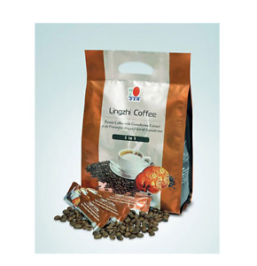 10 packs x DXN Lingzhi Coffee 3in1 Ganoderma Lucidum Extracts Gluten Lactose