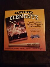 Roberto Clemente Pittsburgh Pirates Signature Miniature Bat 1 of 10000