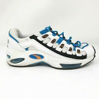 Puma Womens Cell Endura 370732 04 White Blue Running Shoes Lace Up Size 11