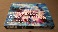 Korg EXB-PCM03 Future Loop Construction Triton keyboard